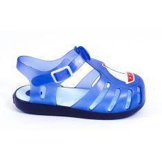 Gioseppo sandales de plage garçon à boucle pression bleu 47505