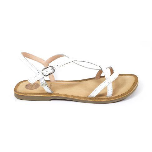 87d4d8173be83 Gioseppo sandales fille à boucle Blanc pour cérémonie 44993