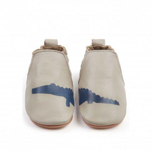 taille 40 c1157 28315 Boumy chaussons bébé cuir à élactique CHASE Croco