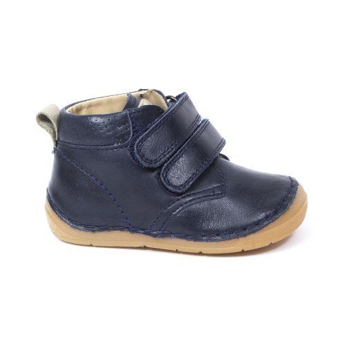 Boots à scratch bleu marine Froddo chaussant large