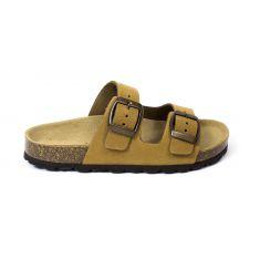 Reqins sandales mules marron pour garçon NUBIA