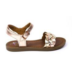 SHOO POM sandales fille SOLAR WOWO metallic doré