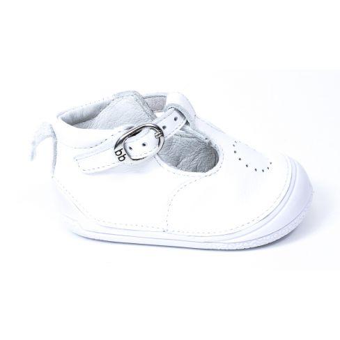 Debout En Zia Blanc Fille Bébé De Cuir Babybotte Chaussure 3A54LqRj