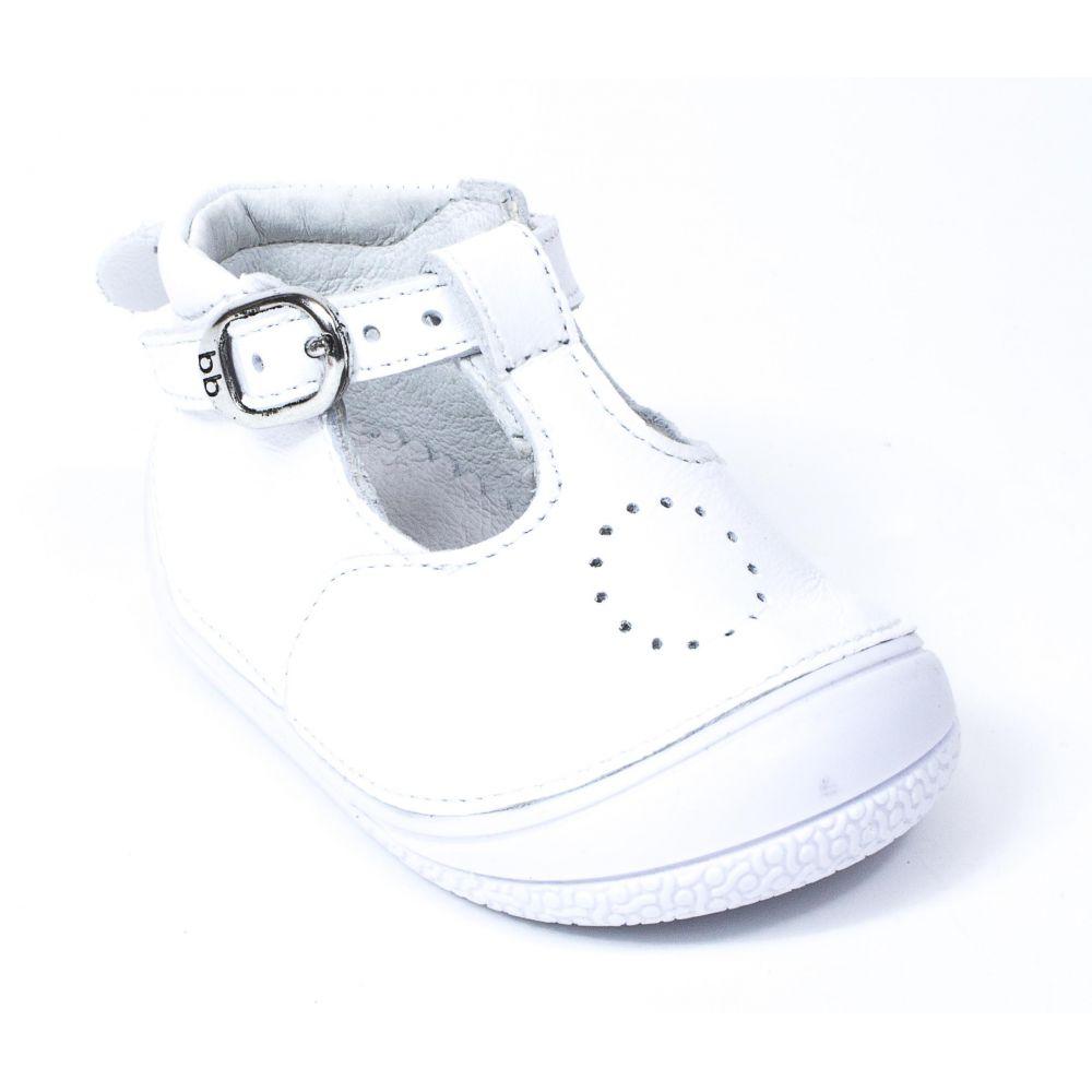 Chaussure Cuir Babybotte En De Zia Debout Blanc Fille Bébé 54LRqcj3A