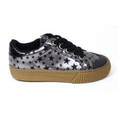 Victoria Sneakers à lacet élastique et fermeture DEPORTIVO gris  1065141