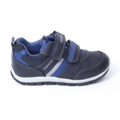 GEOX Sneakers B SHAAX bleu marine foncé pour garçon à scratchs