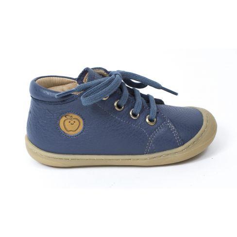 Shoo Pom bibi lo cut bleu jean Boots garçon à fermeture