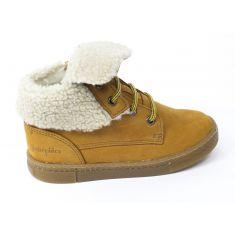 Babybotte Chaussures enfant garçon doublé fourrure KARASJOKFL camel