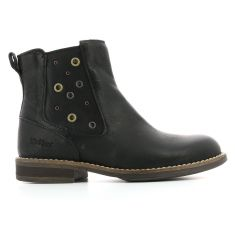 Kickers Boots cuir SMAD noir