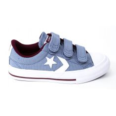 Baskets bas CONVERSE STAR PLAY OX 3V gris bleu