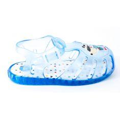 Sandales de plage garçon bleu ciel fermeture pression ESNEUX 59203