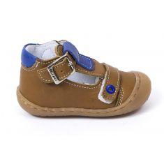 Bellamy sandales souple bébé garçon 1er pas cognac ELIAS
