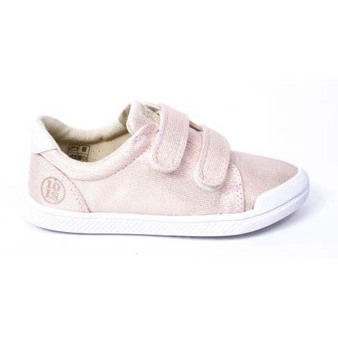 10 IS sneakers TEN FIT V2 rose nude à scratchs