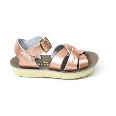Sandales fille Waterproof Salt water Cuir Swimmer Rose gold