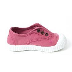 Sneakers à elastique framboise  Victoria 106627