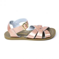 Salt-Water Sandales fille Waterproof Cuir Original Rose Gold
