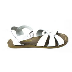 Salt-Water Sandales fille Waterproof Cuir Original Premium white