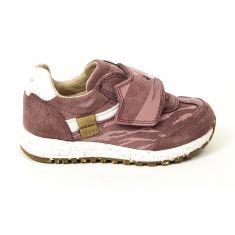 Geox Baskets Sneakers B ALBEN GIRL rose foncé à scratch