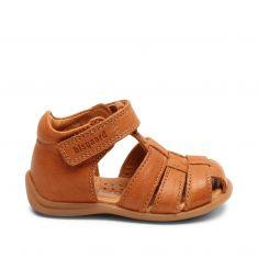Sandales Bisgaard carly tan marron pour garçon
