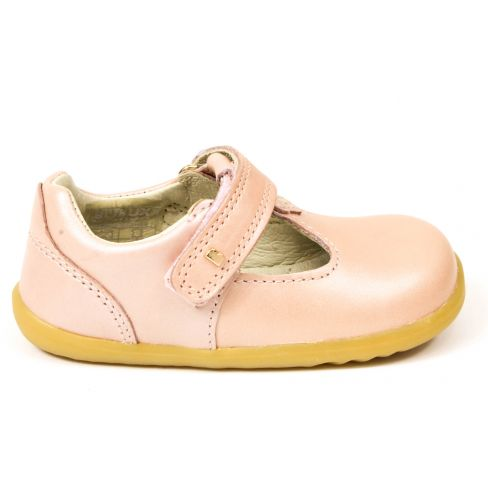 Ballerines/Babies Bobux Step up Louise rose nude