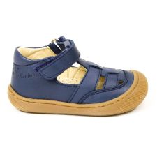 Naturino sandales garçon Wad nappa spazz.sole navy à scratch