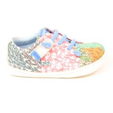 Baskets fille Camper Houston multicolores à élastique
