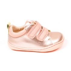 Camper baskets filles Marian rose brillant à scratchs