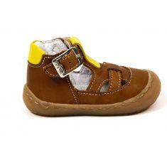 BELLAMY sandales garçon Stan camel à boucle