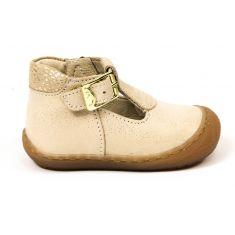 Sandales fille Bellamy sandy dorées à boucle