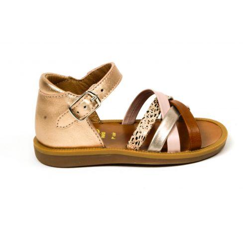 POM D'API sandales Poppy ERG à boucle pour fille