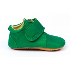 Froddo Prewalkers vert - Chaussures bébé garçon pré-marche en cuir souple