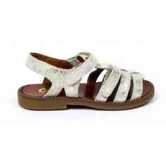 GBB sandales argent pieds fins KATAGAMI