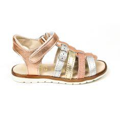 Bellamy sandales fille Mini dorées à scratch