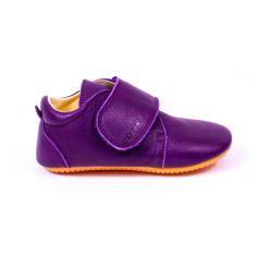 Froddo Prewalkers purple - Chaussures bébé fille pré-marche en cuir souple