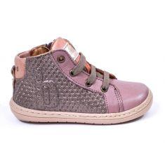 Bisgaard chaussures Bottines fille Villum stone à fermeture éclair et lacet