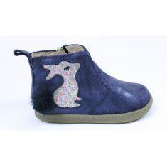 Shoopom Boots fille Bouba Pimpin  bleu marine