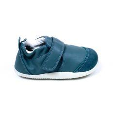 Bobux XPLORER cuir souple Marvel slate - chaussures 1er pas