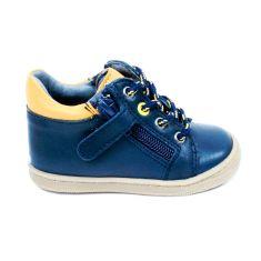 Bellamy bottines bleu marine garçon GAFI avec fermeture éclair