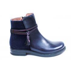 Bellamy Boots fille bleues à fermeture EMILI