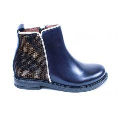 Bellamy Boots fille bleu marine à fermeture LORIANE