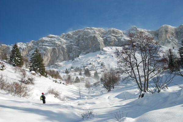 Lans en vercors ski enfant