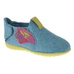 Chaussons bleu rose JUNON
