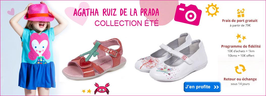 Collection été Chaussures AGATHA RUIZ DE LA PRADA