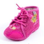 Chaussons à lacets rose  GBB LISETTE 90057