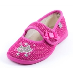 Chaussons Ballerines rose GBB   LENI 90457
