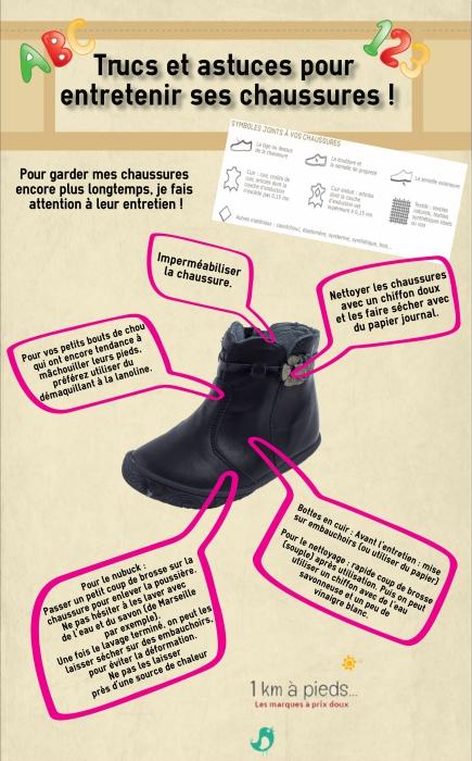 Trucs et astuces pour entretenir les chaussures d'enfant