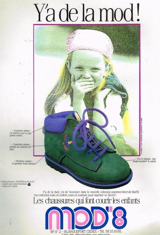 chaussures enfant mod8