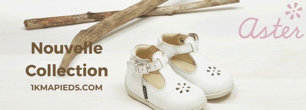 La nouvelle collection de chaussures enfant Aster
