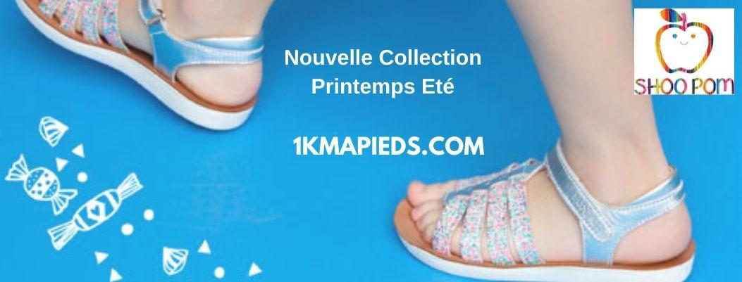 nouvelle collection de chaussures enfant Shoo Pom