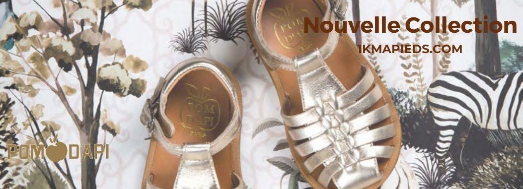 La nouvelle collection de chaussures enfant Pom d'Api